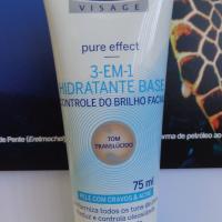 Review: Nivea Visage Pure Effect - 3 em 1 - Hidratante Base Controle do Brilho