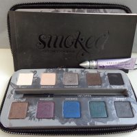 Review: Paleta Smoked Urban Decay + Make do Dia