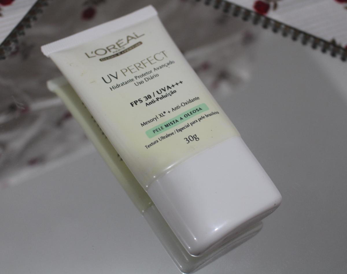 L'oréal UV Perfect pele mista a oleosa Hidratante Protetor Avançado