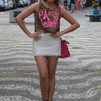 Look do dia: Pink & Leopard