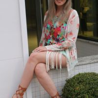 Look Candy Colors com Gladiadora