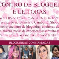 Encontrinho Blogueiras e Leitoras