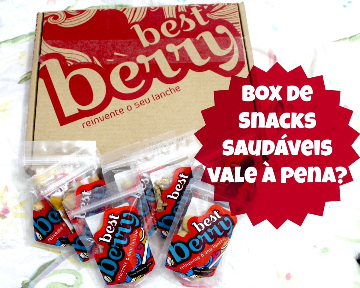 Box de Snacks Fitness. Vale à pena?