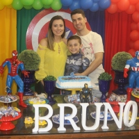 Festa Vingadores - 6 anos do Bruno