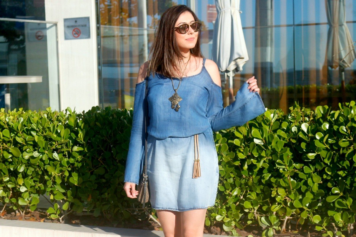 Look do Dia: Vestido Jeans
