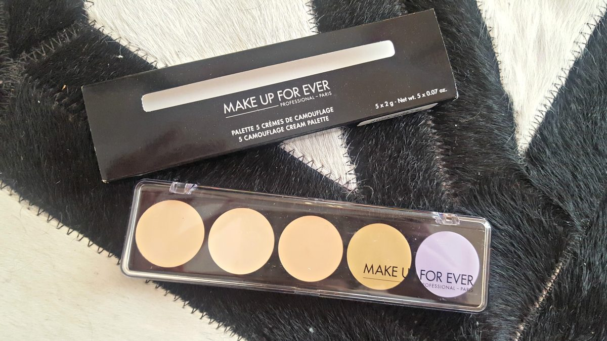 Palette 5 Cremes Camouflage nº 2 Make Up For Ever